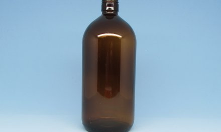 Vidro Âmbar 1 litro rosca 31 mm