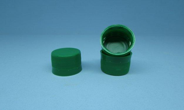 Tampa Plástica Lacre rosca 28 mm