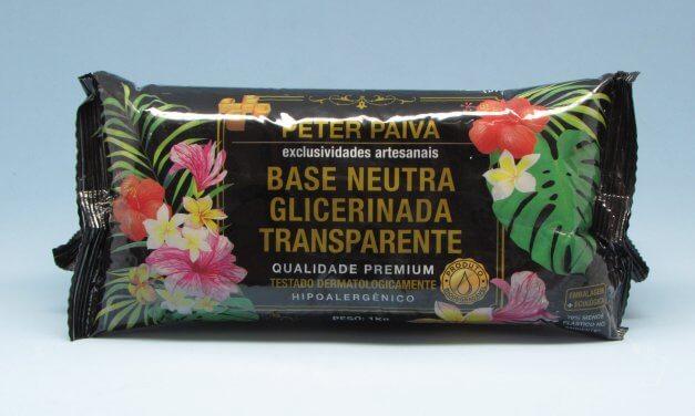 Base Glicerinada Transparente 1kg – Peter Paiva