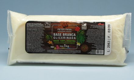 BASE BRANCA PARA SABONETE GLICERINADO 100% VEGETAL 1KG – Peter Paiva