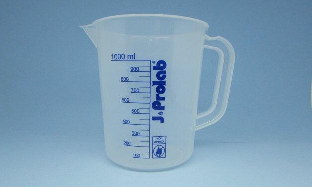 Jarra graduada 1 litro