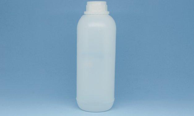 Frasco de Polietileno Cilíndrico 1 litro
