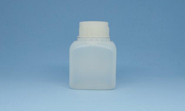 Frasco de Polietileno Retangular 250 ml