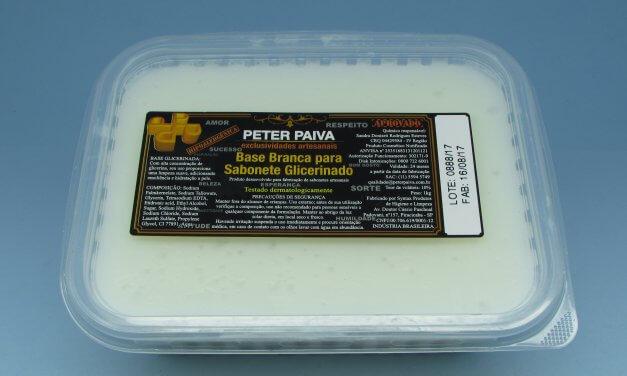 Base Glicerinada Branca 1kg – Peter Paiva