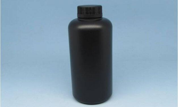 Frasco PEAD Preto 500 ml