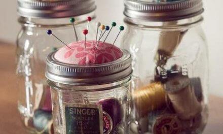 Idéias Criativas: Potes de Vidro