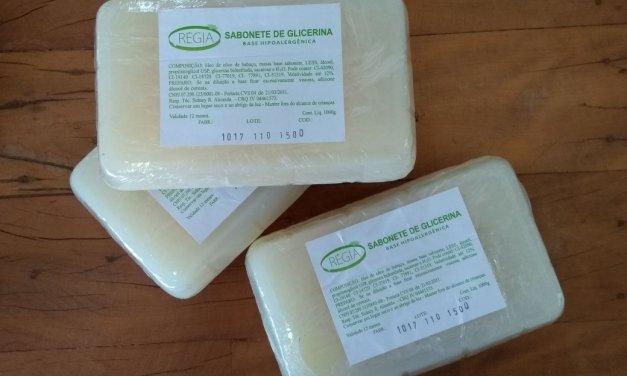Sabonete de glicerina Regia (Hipoalergico)