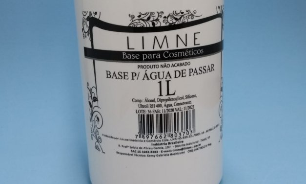 BASE PARA ÁGUA DE PASSAR 1 LITRO LIMNE