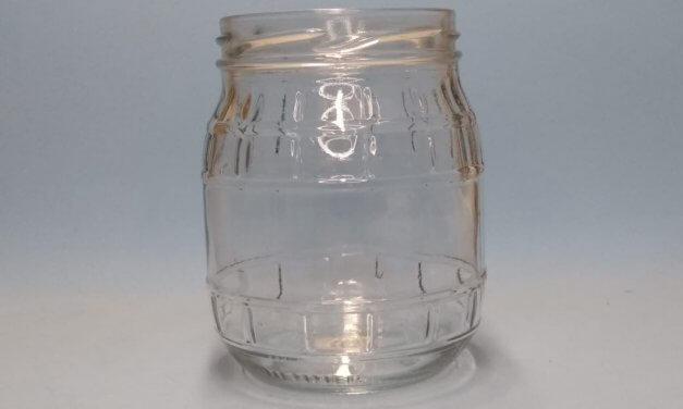 pote de vidro granada 500 ml